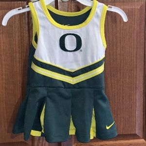 Nike Oregon Ducks NCAA Cheerleading Dress 18Months